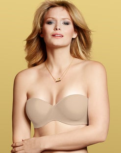 Bali Strapless Full-Figure Bra with Convertible Straps
