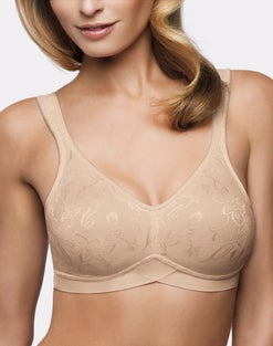 WonderBra Wire-Free Bra with Wide Underbust Wonderband